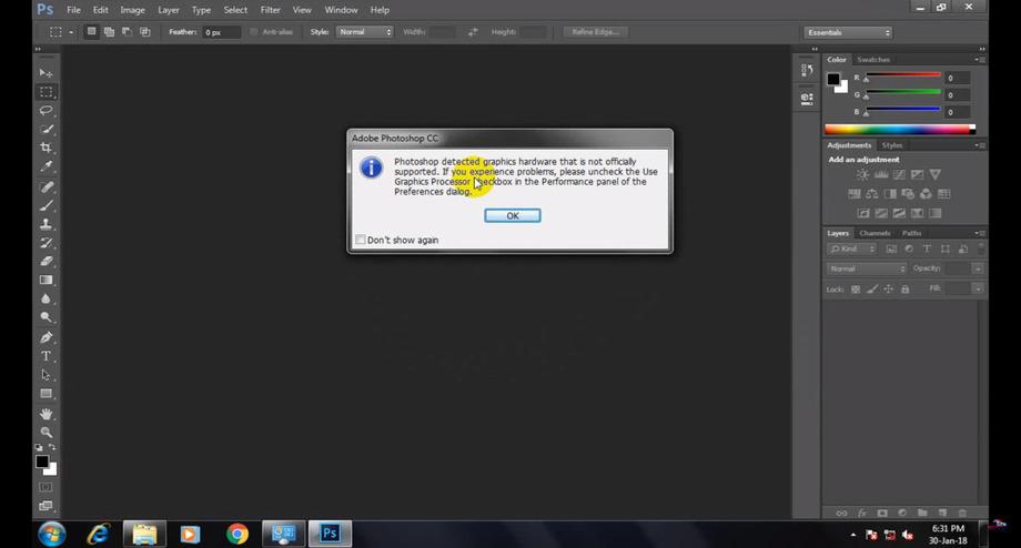 Adobe Photoshop CC full version