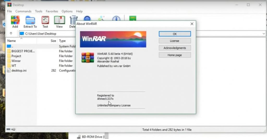 WinRAR features full version free download